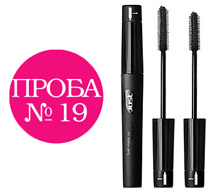 Проба №19. Тушь Mascara Long & Curling от Just make up.
