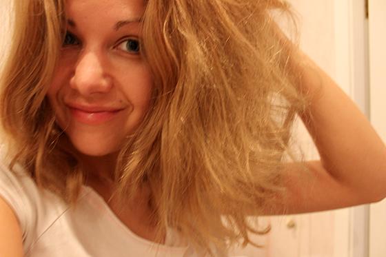 После мытья пышные волосы что делать
